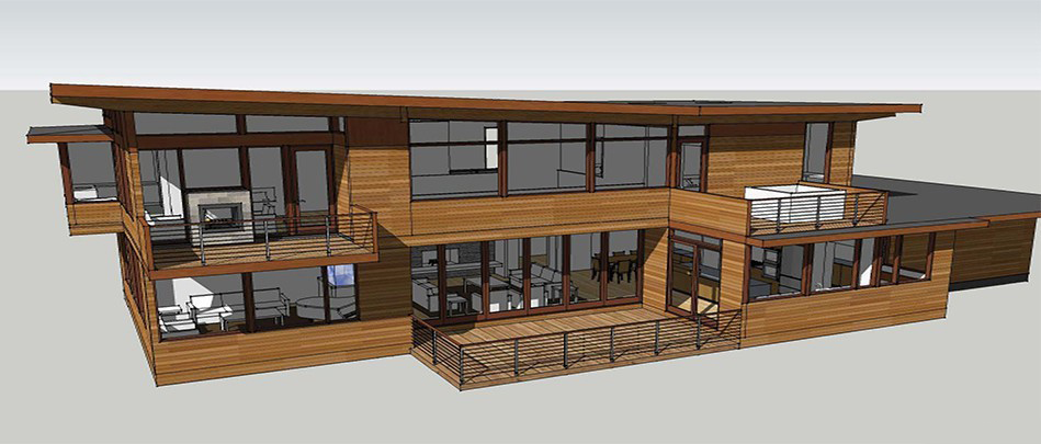 Construction Begins On Ultra Contemporary Home in Frederick